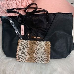 VICTORIA'S SECRET TOTE BAG WITH INSIDE POUCH